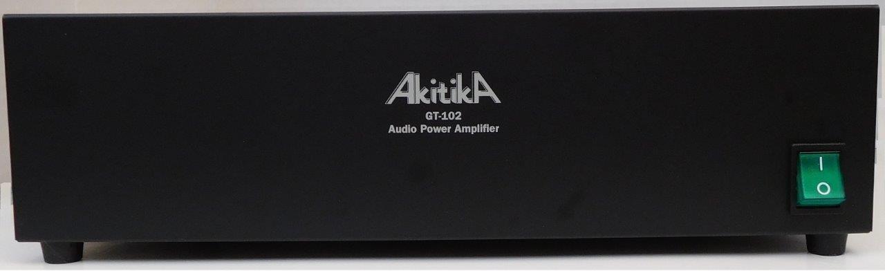 GT-102 Stereo Power Amplifier